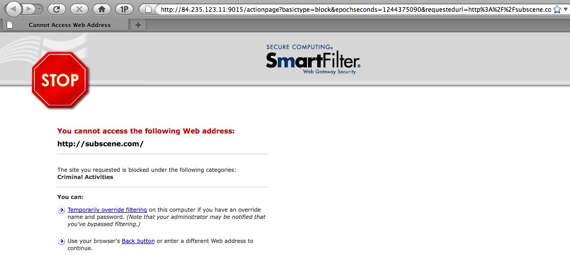 Controversial Web Filtering Storms Schools